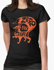 Zero Fox Given Womens Fitted T-Shirt
