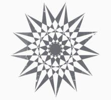 Trippy Star Grunge One Piece - Short Sleeve