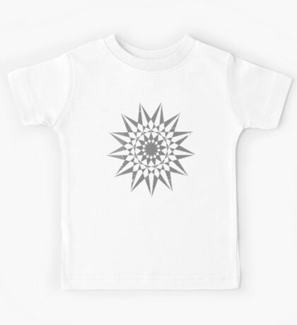 Trippy Star Grunge Kids Tee