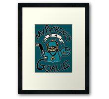 My Patronus is a Goalie (SJS Edition) Framed Print