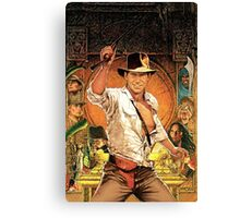 Raiders of The Lost Ark Movie Canvas Print