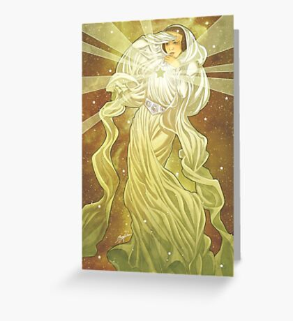 Lady of Light II Greeting Card