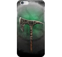 Thane's Axe iPhone Case/Skin