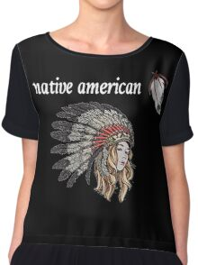 Native American Chiffon Top
