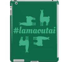 Lamaoutai - where are you lama? iPad Case/Skin