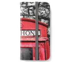 Telephone Box iPhone Wallet/Case/Skin