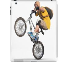 bike rider iPad Case/Skin