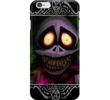 Beetlejuice with border iPhone Case/Skin