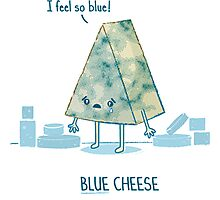 Blue cheese Photographic Print