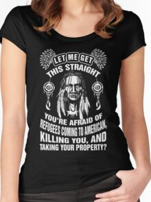 Native American Women's Fitted Scoop T-Shirt