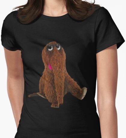 Awesome snuffleupagus Womens Fitted T-Shirt