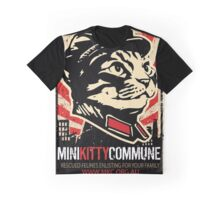 "MKC ""Big Fat Charity Cat Picture"" Graphic T-Shirt"