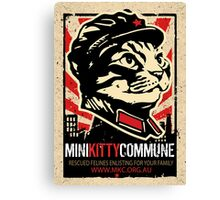 "MKC ""Big Fat Charity Cat Picture"" Canvas Print"