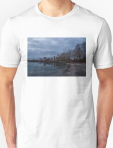 Early, Still and Transparent - on the Shores of Lake Ontario in Toronto Unisex T-Shirt