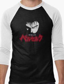 Berserk Guts story Swordsman Men's Baseball ¾ T-Shirt