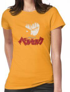 Berserk Guts story Swordsman Womens Fitted T-Shirt