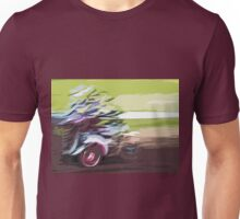 """The amazing effect of the slow speed 5  (c)(t)  a PAINT as """" Picasso """" with humor ! """"Kiss the cool effect"""" without digital effects with compact kodak z 1285! on 29.07.2012 Unisex T-Shirt"""