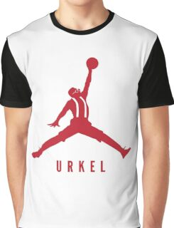Steve Urkel Jumpman Logo Spoof 2 Graphic T-Shirt