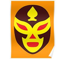 Mexican Wrestling Mask, Luchador Poster