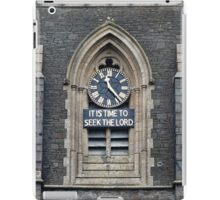11:23. Its Time to Seek the Lord iPad Case/Skin