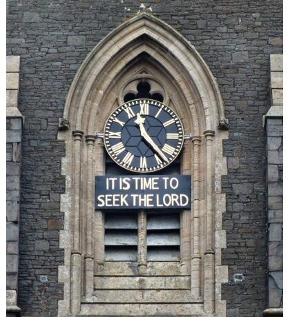 11:23. Its Time to Seek the Lord Sticker