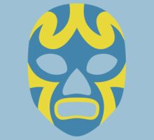 Mexican Wrestling Mask, Luchador One Piece - Short Sleeve