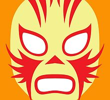 Mexican Wrestling Mask, Luchador by monsterplanet