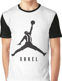 Steve Urkel Jumpman Logo Spoof 4 Graphic T-Shirt