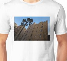 Wandering Around the Streets of Barcelona, Spain Unisex T-Shirt