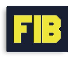 Federal Investigation Bureau Canvas Print