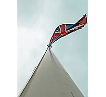 Run it up the flagpole, see if anybody salutes. Photographic Print