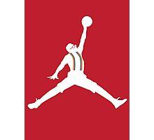 Steve Urkel Jumpman Logo Spoof 6 Photographic Print