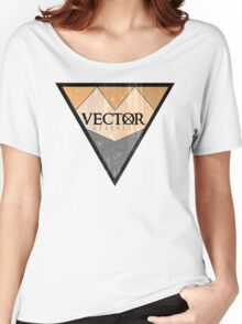 Vect(o)r Graphics Logo Women's Relaxed Fit T-Shirt
