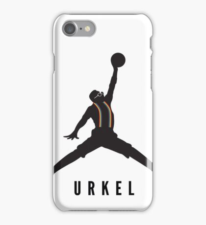 Steve Urkel Jumpman Logo Spoof 7 iPhone Case/Skin