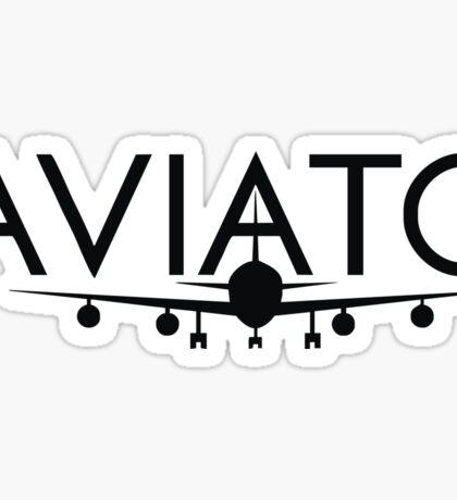 aviato logo Sticker