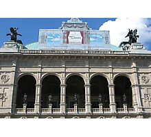 Arches, Vienna State Opera House Photographic Print