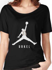 Steve Urkel Jumpman Logo Spoof 1 Women's Relaxed Fit T-Shirt