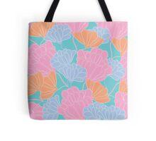 Neon Floral Tote Bag