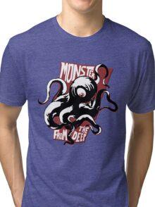 Monster from the Deep Tri-blend T-Shirt