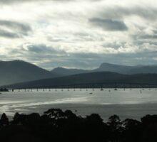Derwent River, Hobart, Australia 2 Sticker