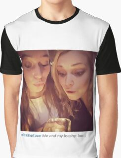 The 100 cast / leashy-loo Graphic T-Shirt