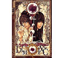 Death Note Misora Naomi & L Photographic Print