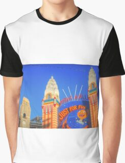 Luna Park .. Just For Fun Graphic T-Shirt