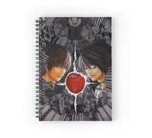 Death Note L vs Kira Spiral Notebook