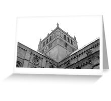 Southwell Minster Nottingham England Greeting Card