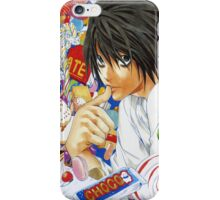 Death Note L  iPhone Case/Skin