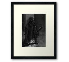 Kuro Framed Print
