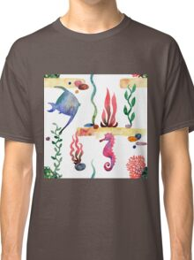 Sea pattern Classic T-Shirt