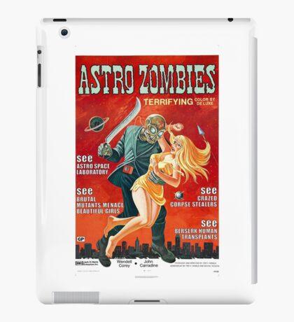 ASTRO ZOMBIES B MOVIE iPad Case/Skin