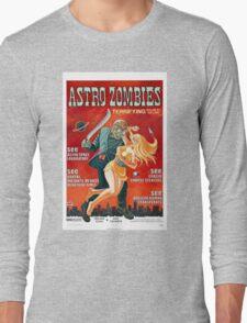 ASTRO ZOMBIES B MOVIE Long Sleeve T-Shirt